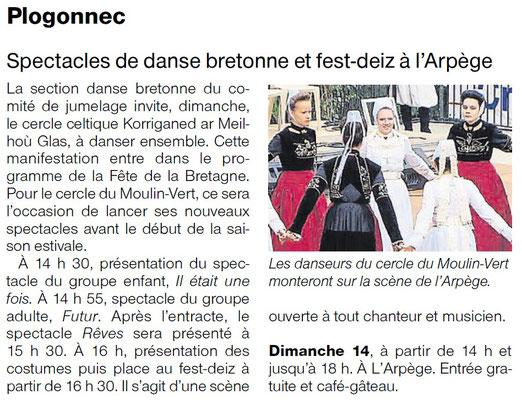 Ouest-France - Samedi 14 Mai 2017