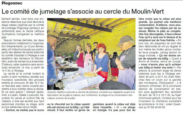 Ouest-France - Mardi 25 Avril 2017