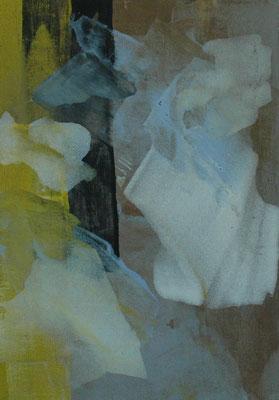 Jens Hoff, o.T.,  Acryl auf Leinwand, 60x50 cm