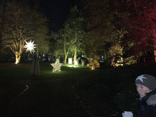 Lichterglanz im Schloßgarten von Cuxhaven