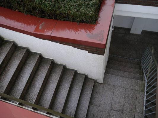 Der Absatz der Treppe in der Residenz Meeresbrandung