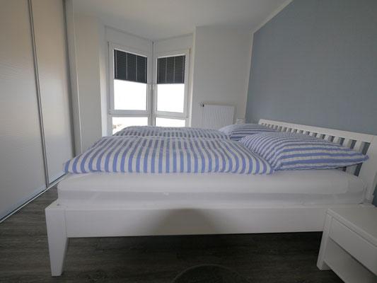 Schlafzimmer mit Meerblick