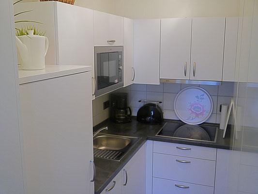 Die neue Küche in der Ferienwohnung