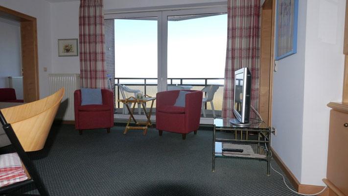 Die Ferienwohnung in Duhnen ist modern und komfortabel eingerichtet