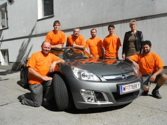 Team Autoblümel - Designlackierung, Airbrush