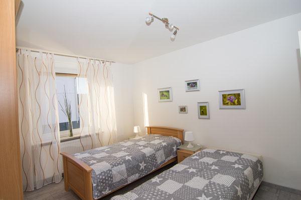 2. Schlafzimmer mit zwei einzel Betten