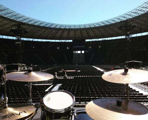 olympia stadion / worldrecord mario barth // pic: bene neuner