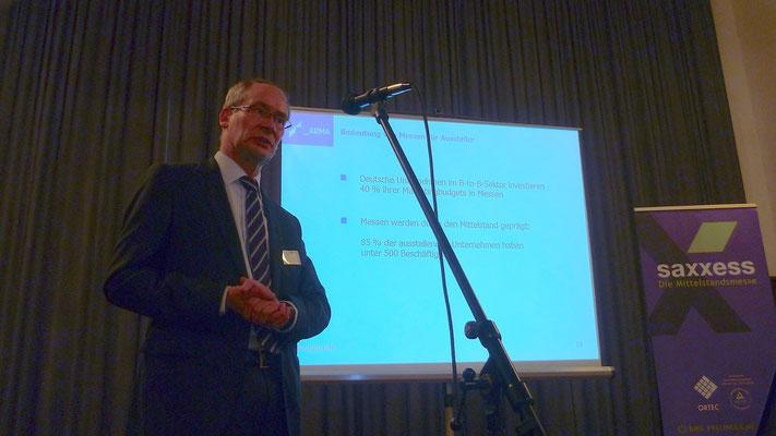 Vortrag von Harald Kötter, AUMA, Berlin
