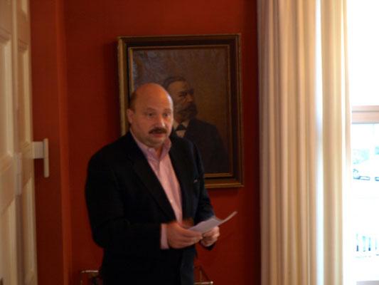 Grußwort von Martin Sarvás, Direktor des Slowakischen Institutes der Slowakischen Botschaft in Berlin
