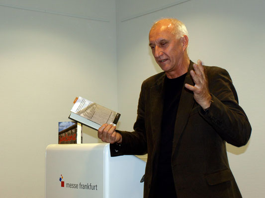 Lesung Jubelzone, Frankfurter Buchmesse 2010