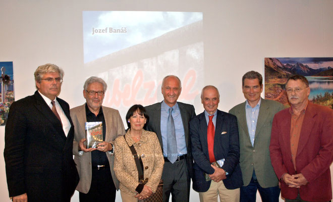 Buchtaufe Jubelzone, Sept. 2010,  Sept. 2010 im Slowakischen Institut in Berlin, Gruppenbild