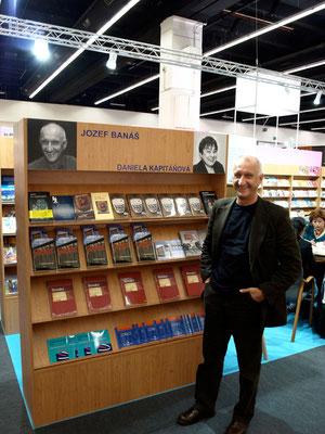 Am Slowakischen Stand, Frankfurter Buchmesse 2010