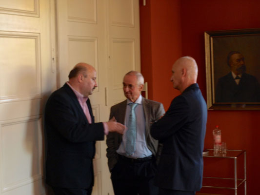Martin Sarvás, Peter Pragal, Jozef Banás