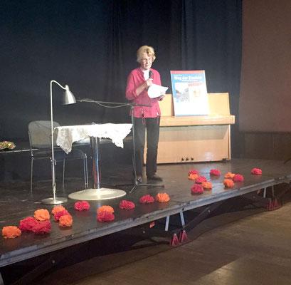Weg der Einsicht - Buchtaufe - 2.10.15 - Grußwort Frau Seidel vom Deutschen Tierschutzbund
