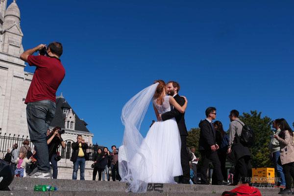 Bild: Hochzeit in der Basilique du Sacré Coeur de Montmartre