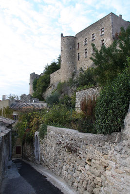 Bild: Zitadelle aus dem 13. Jh., im Privatbesitz, Ménerbes