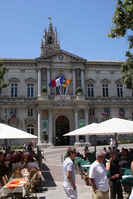 Bild: Hotel de Ville, Rathaus, Avignon