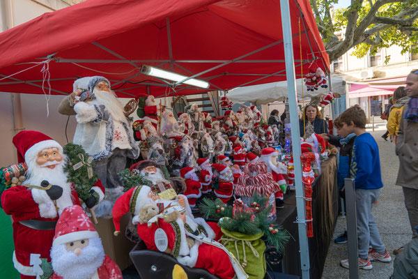 Bild: Weihnachtsmarkt in Fontvielle, Bouches du Rhône