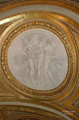 Bild: Louvre Paris, Decken und Stuckarbeiten
