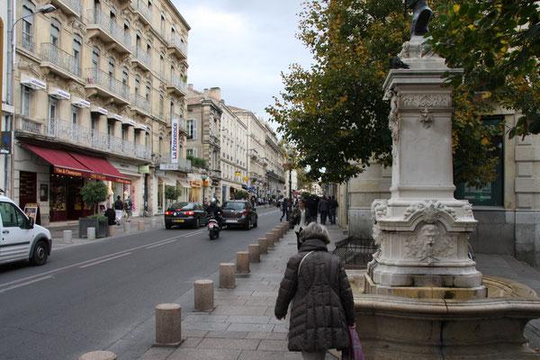 Bild: Hauptgeschäftsstraße, Avignon