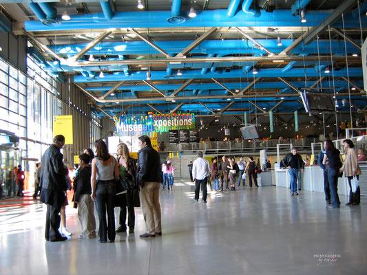 Bild: Centre Pompidou in Paris
