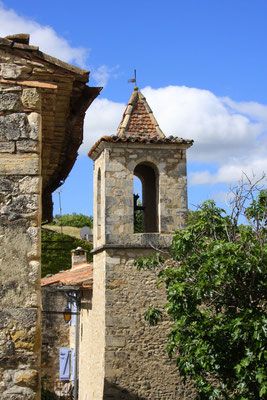 Bild: Kirchturm von Oppedette