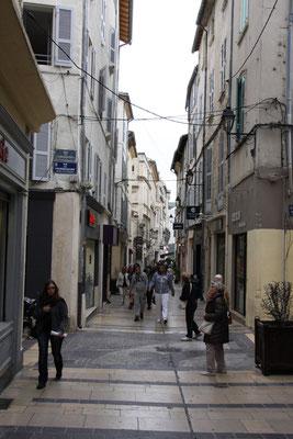 Bild: In den Seitenstraßen von Avignon