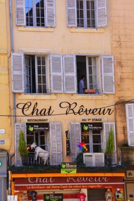 Bild: Hauswand in Aix-en-Provence