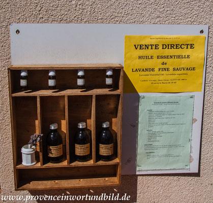Bild: Lavendeltour hier im kleinen Ort St.-Jurs