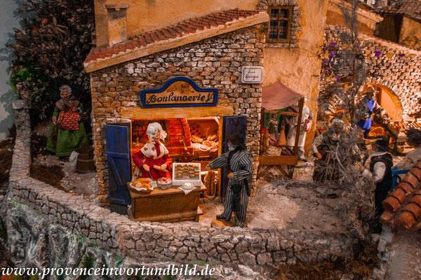 Bild: Le Village des Santons en Provence, Aubagne, Santonaustellung in Aubagne