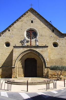 Bild: Portal der Kirche in Roquemaure