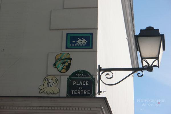 Bild: am Montmartre