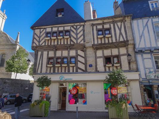 Bild: In der Altstadt von Vannes