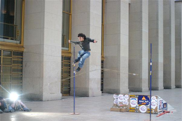 Bild: Darbietungen am Trocadéro, Paris
