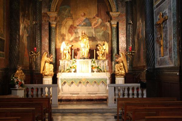 Bild: Seitenaltar in der Cathédrale Notre Dame des Domes in Avignon