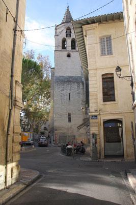 Bild: In der Stadt Avignon