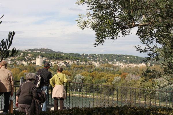 Bild: Blick auf Villeneuve-les-Avignon von Avignon aus