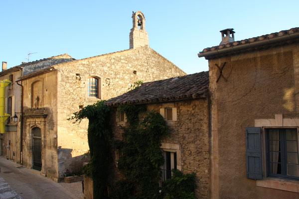Bild: Chapelle Saint-Blaise aus dem 18. Jh. in Ménerbes