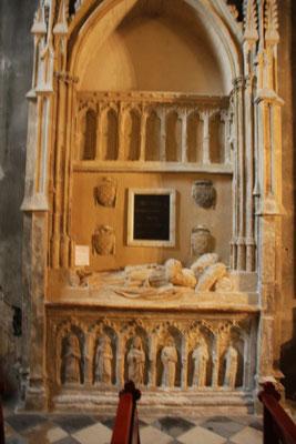 Bild: Sépulture de Benoit XII Pape de 1334 à 1342 in der Cathédrale Notre Dame des Domes in Avignon
