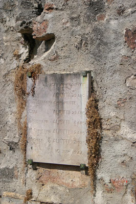 Bild: Gedenkstätte des Massaker von Oradour sur glane