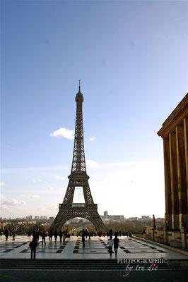 Bild: Im Jardin de Trocadéro