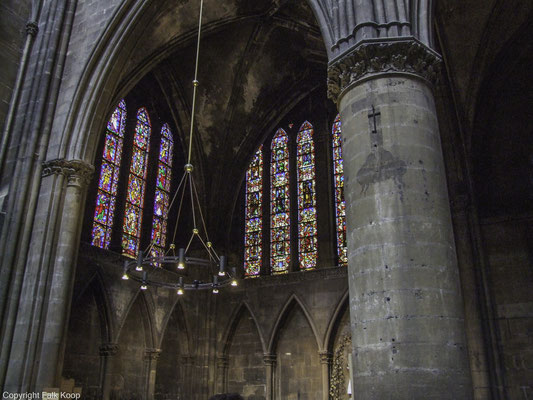 Bild: Glasfenster der Kathedrale Saint-Etienne in Metz