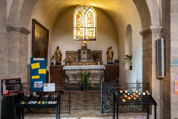 Bild: Nyons mit Église Saint-Vincent im Département Drôme