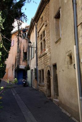 Bild: Straße in Cucuron,Vaucluse, Provence