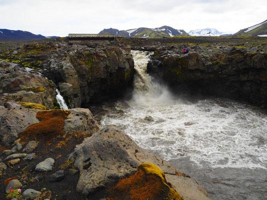 Innri-Emstruá. Bridge at Innri-Emstrua.