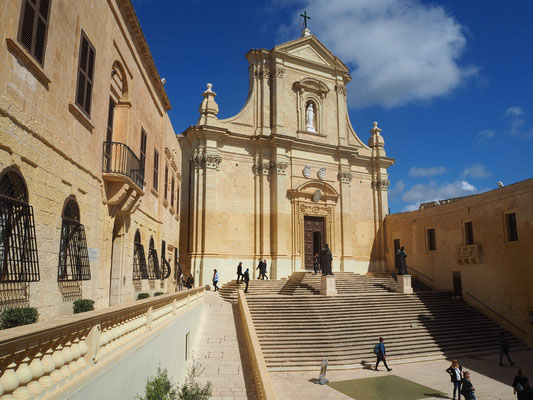 Cathedral of assumption, Victoria, gozo