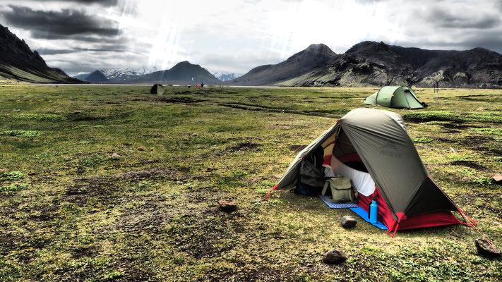 camping Alftavatn