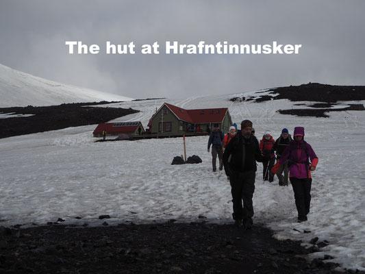 Hut Hrafntinusker