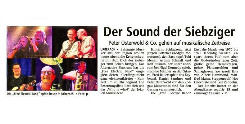 Offenbach Post, 6. März 2015