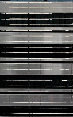 """o.T."", 2016, 150x100cm, Acrylfarbe, Aluminium geschliffen"